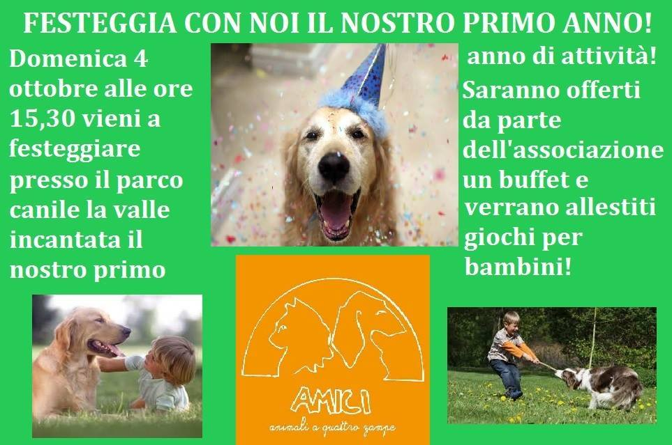 Parco Canile 1 Anno